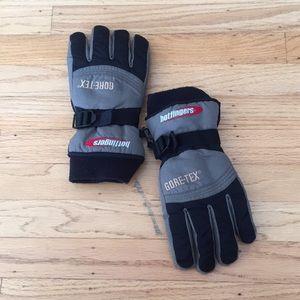 Hot fingers Gore-Tex snow ski gloves Ladies M